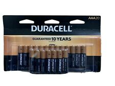 Duracell 01548 - AAA Cell Doublewide Battery 20 Pack