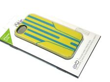 New iSkin Exo Case for iPhone 5/5S - Yellow/Blue EXO5S5YWB - FREE SHIPPING