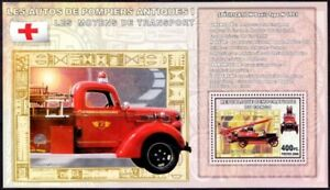 Congo 2006 MNH MS, Red Cross, Fire Brigade, Denis N 1921, Special Transport