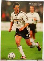 Christian Ziege + Fußball Nationalspieler DFB + Fan Big Card Edition B378 +