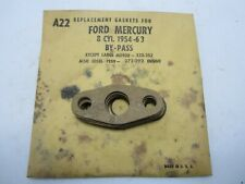 54-63 Ford Mercury 272 292 Water By-Pass Gaskets (8) STANT A22