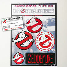 """GHOSTBUSTERS """"ZEDDEMORE"""" Team Patches - Iron-On Patch Mega Set #025 - FREE POST"""