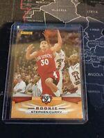 2009 Panini Basketball Stephen Curry RC Rookie 372 Davidson