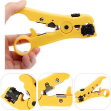 Coax Coaxial Cable Wire Cutter Strip Tool Crimper for RG59 RG6 RG7 RG11 Stripper