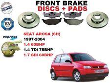 für Seat Arosa 6H 1.4 1.4TDI 1.7SDI 97-04 Vorderbremse Scheibensatz +