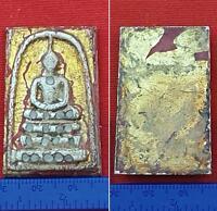 RARE SARIRA PRA TATH METAL BLACK HAIR SAKAYAMUNI ANCIENT BUDDHA RELICS PAGODA