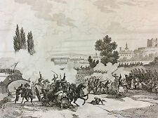Napoléon Bonaparte Empire bataille napoléonienne prise de Saumur XIX e 1837