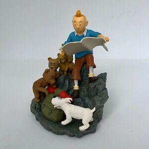 ••• Tintin Scène Oursons • Objectif Lune • Marque Chauer (No Moulinsart) 2011 •