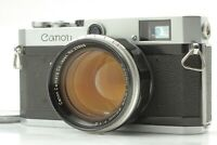 【NEAR MINT】 CANON P 35mm Rangefinder Camera w/ 50mm f/1.2 L39 Lens from JAPAN