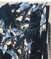 EMILIO VEDOVA, Opera unica del 1950, Tecnica mista su carta su tela, Archiviata