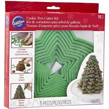Wilton Christmas Cookie Tree Cutter Kit  Make your own Gingerbread Tree