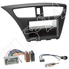 Honda Civic FK2/FK3 ab02/2014 2-DIN Blende+Fach+ISO Adapter+Antennen Stecker Set