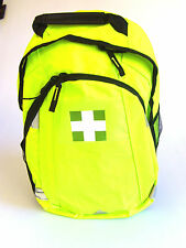 HI VIZ PADDED EMERGENCY MEDIC FIRST AID RUCKSACK