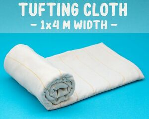 TUFTING CLOTH 4 Metres Width Tufting Guns / Punch Needles - Primary backing Monk