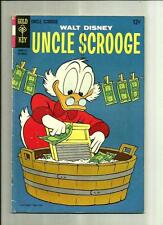 UNCLE SCROOGE #72  1967 GOLD KEY COMICS SILVER AGE  CARL BARKS  DONALD DUCK