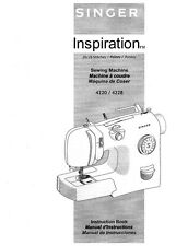 Singer 4220-4228 Sewing Machine/Embroidery/Serger Owners Manual