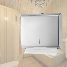 Commercial Home Use Durable C Fold Paper Towel Dispenser Wall Mounted Heavy Duty