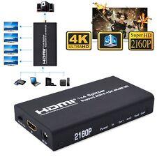Hot HD 4K 3D HDMI 1x4 Splitter SPDIF Coaxial L/R Audio Extractor Converter 2160P