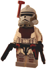 New LEGO Custom Printed - CLONE WARS COMMANDER COLT - Star Trooper Minifigure