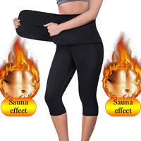 Sauna Hose Schwitzhose Trainingsanzug Schwitzgurt Schwitzeffekt Fitness Joggen