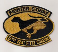 JASDF 8th TACTICAL FIGHTER SQN patch JAPANESE AIR SELF DEFENSE FORCE