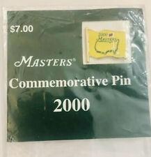 2000 Masters Golf Tournament Commemorative Pin Augusta NationalVijay Singh New