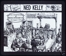 1 x NED KELLY COURTROOM CONVICTION,  MOUSE MAT OR SMALL TABLE MAT - SUCH IS LIFE