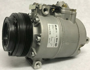 New Genuine Hella Behr AC Compressor 8FK-351176571, BMW 64526918000