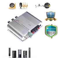 300W12V Home Hi-Fi Amplifier Booster Radio MP3/MP4/iPod Stereo for Car Sub YCV