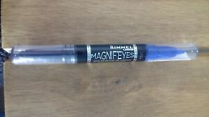 rimmel magnif'eyes kohl eyeliner and eyeshadow stick 004 dark side of blue