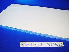"""Aluminiumplatte Alu 400x200x10mm Plan gefräst """"ZUSCHNITT"""" m. Schutzfolie AW 5083"""
