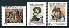 Czech Republic 2016 MNH Art Jaroslav Kral Frantisek Tichy 3v Set Stamps