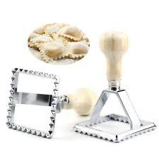 2.8'' Square Ravioli Stamp Pasta Ravioli Cutter Pastry Mold Press Ravioli Maker