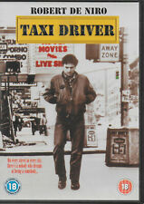 Taxi Driver DVD Robert De Niro Jodie Foster Albert Brooks Harvey Keitel