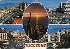 Alte Postkarte - Impressionen von Riccione