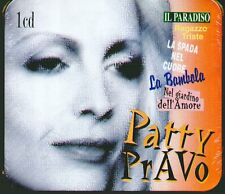 "PATTY PRAVO ""IL PARADISO (RACCOLTA) ""CD SIGILLATO METAL BOX RARO LIMITED EDITION"