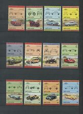 Set of 144 Classic Motor Cars of The World Mint Postage Stamps With Stock book