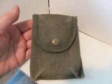 Ww2 military canvas belt pouch Us. marked