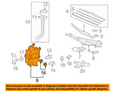 Lexus TOYOTA OEM 10-15 RX350 Windshield-Washer w/ washer Pipe Reserv 853150E030