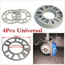 4Pcs Silver Auto Car Universal 5MM Wheel Spacers Adaptor Shims Plate 4/5 Stud