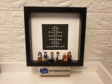 Friends 3D minifigure Frame tv Rachel, Ross, Monica, Phoebe, Chandler, Joey