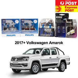 White Light Package H15 T10 PHILIPS H7 H11 CV S25 LED Reverse for VW 2017 AMAROK