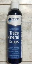 Trace Mineral Research ConcenTrace Mineral Drops 8 oz. Exp 04/24 SEALED