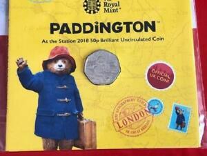 2018 Paddington at the Station 50p Brilliant Uncirculated Pack