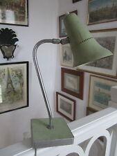 LAMPE ANCIENNE DE BUREAU DESIGN MODERNISTE DES ANNEES 1950 MULLCA MATERIEL SCOLA