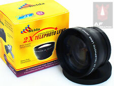 Z6 2X TELE telephoto Lens for Olympus OM-D E-M1 w/ 12-50mm Lens Camera AU