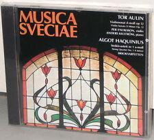 MUSICA SVECIAE CD MSCD 608: Tor Aulin / Algot Haquinius - OOP 1988 UK SEALED