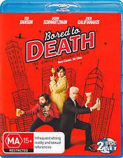 Bored to Death Season 2- Brand new and sealed- Blu ray- Region B