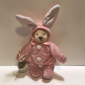 "Muffy Vanderbear 8"" Tall - Pink Bunny Rabbit Bear"