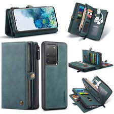 For Samsung Galaxy Note 20 Ultra Case Luxury Removable Wallet Flip Leather Cover